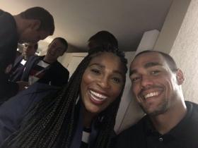 Fabio Fognini e Serena Williams