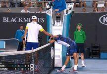 """Da Melbourne: Fabio Fognini """"Con lui all'inizio non ci capisco mai nulla. Poi ci sono stati alcune errori arbitrali che non sono stati a mio favore, però succede nel tennis"""" ed annuncia il ritorno di Bolelli in Davis con l'Argentina (con il video dell'incontro di oggi)"""
