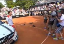 Video del Giorno: Le ultime fasi del primo successo in carriera nel circuito ATP di Fabio Fognini (compresa la premiazione e dichiarazioni dell'azzurro)