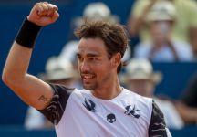 """ATP Gstaad: Fabio Fognini conquista il quinto torneo in carriera. Battuto Yannick Hanfmann in due set. Fognini dichiara """"Sono molto contento"""""""