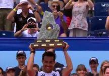 """Video del Giorno: Il quinto successo in carriera di Fabio Fognini. L'azzurro dichiara dopo il successo a Gstaad """"è un trofeo speciale perché è il mio primo da papà"""""""