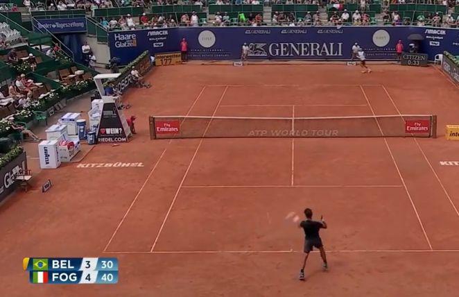 Video del Giorno: Vediamo le due vittoria di Fabio Fognini contro Bellucci e Zekic a Kitzbuhel