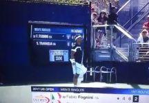 Fabio Fognini squalificato dallo Us Open. Non potrà giocare il doppio con Simone Bolelli