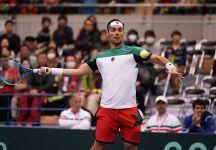 Davis Cup: Giappone vs Italia 0-1. Un brutto Fabio Fognini salva la pelle contro Taro Daniel al quinto set. 112 gli errori gratuiti commessi dal ligure
