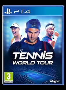 Tennis World Tour sarà disponibile dal 22 maggio 2018 per PlayStation®4, Xbox One, Nintendo Switch™ e PC.