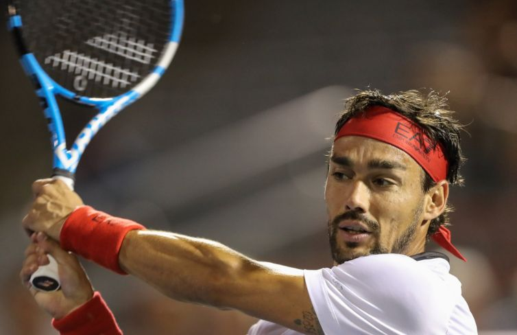 Fabio Fognini eliminato all'esordio