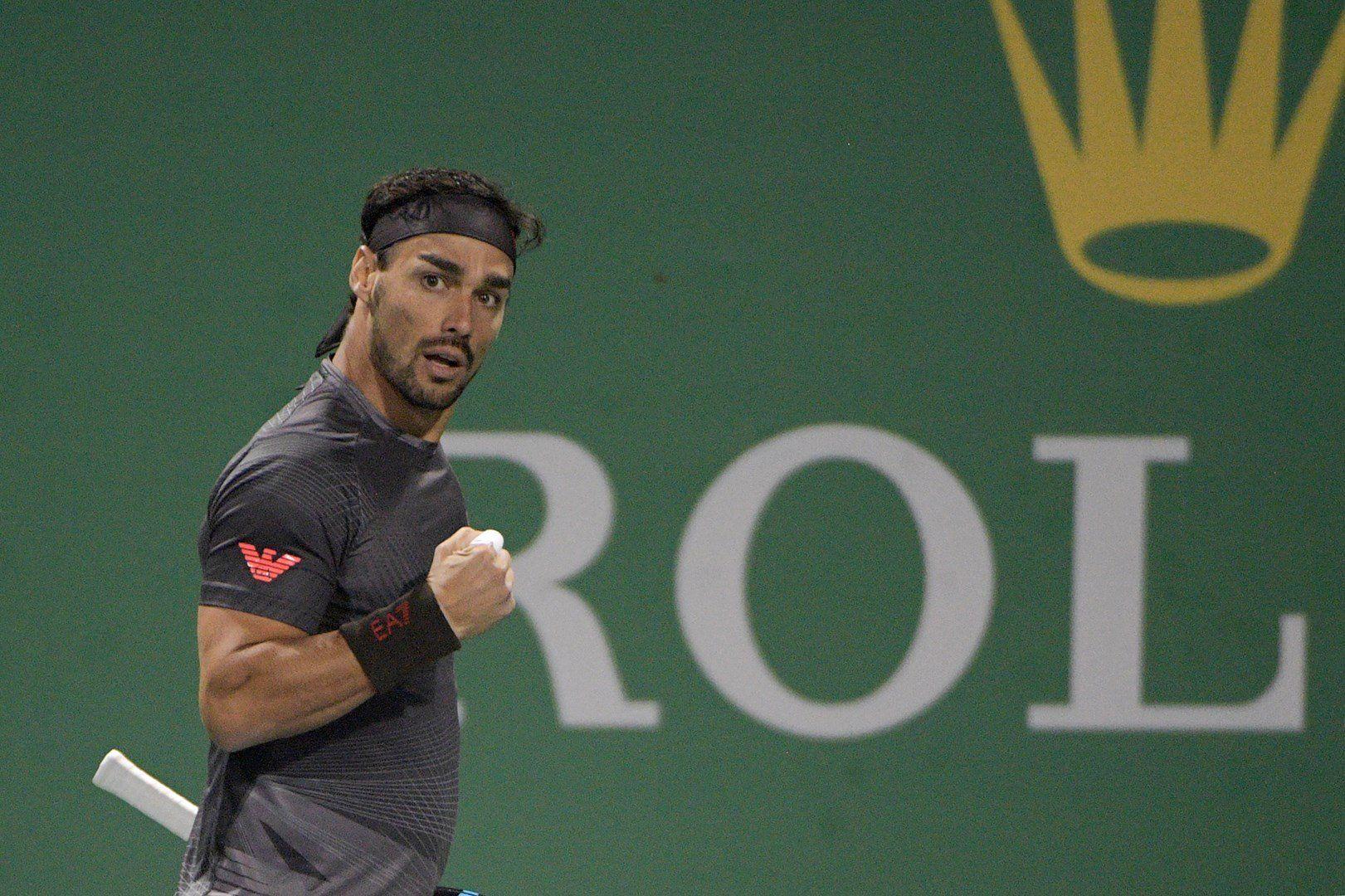Masters 1000 Shanghai: Si ferma ai quarti di finale Fabio Fognini
