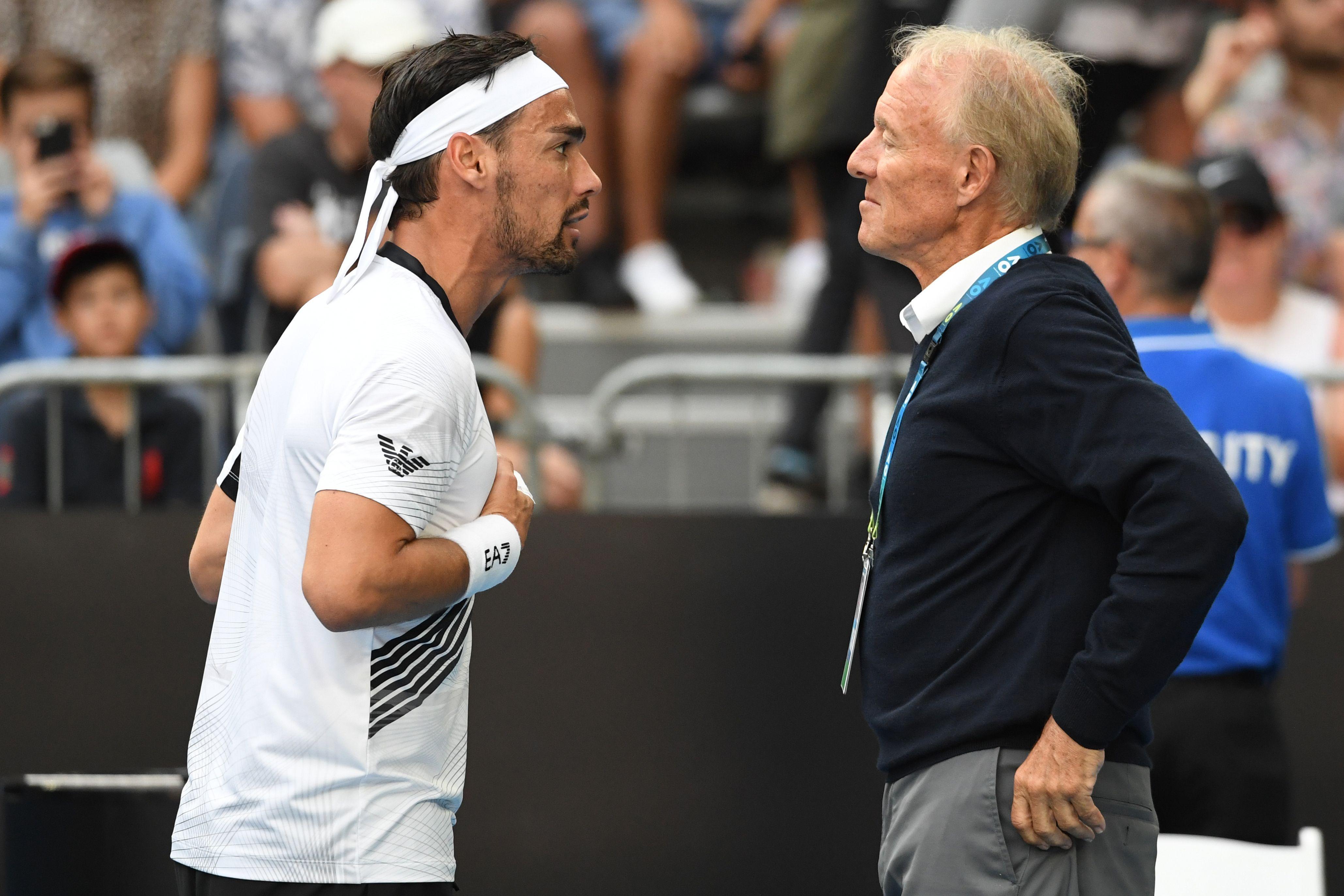 Australian Open, Fognini eliminato da Sandgren: sfuma la Top Ten