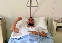 Fabio Fognini operato alle caviglie. Stop dai 2 ai 4 mesi