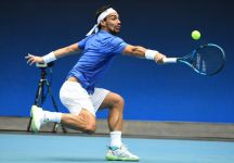 Australian Open: Fabio Fognini vola al terzo turno. Battuto Salvatore Caruso nel derby italiano (Video con la partita)