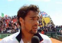 Video Davis Cup: Da Supertennis le interviste a Fabio Fognini e Andreas Seppi