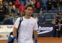 ATP Amburgo: Fabio Fognini spreca troppo nel primo set. L'azzurro viene eliminato da Kohlschreiber in due set