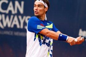 Fognini ha raggiunto i quarti di finale al Roland Garros di quest'anno. Foto Dana Anders.