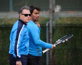 La collaborazione tra Fognini e Perlas era iniziata nel novembre del 2011.