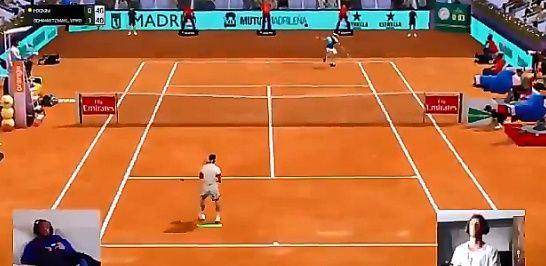 Video del Giorno: La divertente battuta di Fabio Fognini durante il torneo di Madrid (Video)
