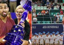 I successi di Fognini e Lorenzi nella stessa settimana: Era capitato solo una volta nell'era Open che due giocatori italiani vincessero due tornei nella stessa settimana