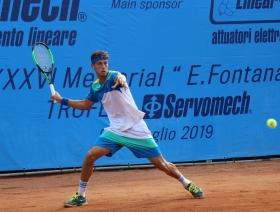 Francesco Forti, vincitore del torneo nel 2019