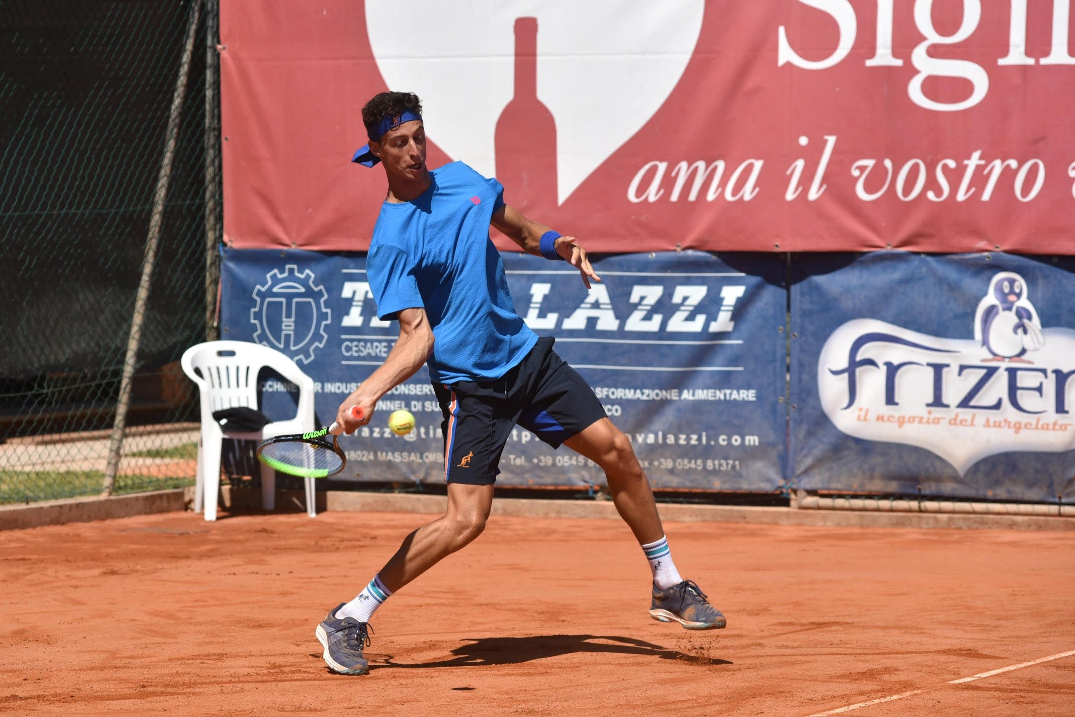 Francesco Forti nella foto