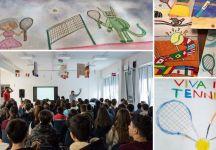 Internazionali di Tennis d'Abruzzo 2020: 353 disegni in gara per diventare la locandina del torneo
