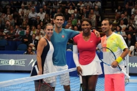 Djokovic&Friends: Serena Williams supera Flavia Pennetta con un doppio 63