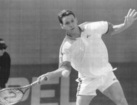 Renzo Furlan in azione nel 1995