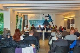 La presentazione della prima edizione del trofeo Città di Lecco, che scatterà sabato 23 maggio (foto Alberto Locatelli)