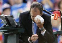 Operato ieri Arnaud Gabas colpito domenisca scorsa dalla pallina di  Denis Shapovalov
