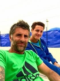 Giorgio Galimberti con Edoardo Eremin
