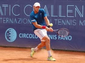 Il croato Viktor Galovic, 25 anni, ha battuto l'argentino Andrea Collarini con un doppio tie-break
