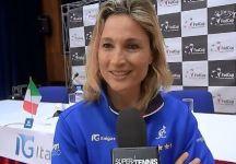 Fed Cup: Russia vs Italia. Le parole di Tathiana Garbin (VIDEO)