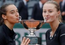 Caroline Garcia decide di non giocare più il doppio. Si separa quindi con la Mladenovic