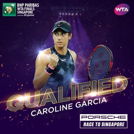 Caroline Garcia nella foto