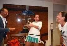 La Medina Garrigues saluta Jelena Ostapenko