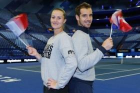 Richard Gasquet e Kristina Mladenovic nella foto