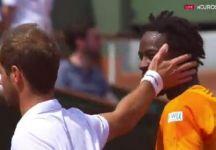 Roland Garros: Ancora tanta sfortuna per Richard Gasquet che si ritira per un problema alla schiena (Video)