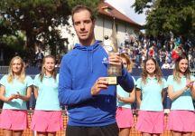 """Da Szczecin: Richard Gasquet conquista il titolo """"Un giorno certamente tornerò. Ottima organizzazione ed è un piacere giocare qui """""""