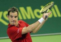 ATP Doha: Richard Gasquet a cinque punti dalla sconfitta, rimonta Nikolay Davydenko e conquista il torneo. Ottavo successo in carriera per il transalpino