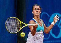 WTA Palermo: Giulia Gatto-Monticone avanza per il ritiro di Antonia Lottner