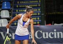 Ranking WTA LIVE: Giulia Gatto Monticone +25 posizioni