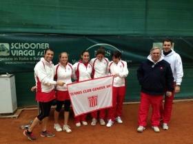 La squadre femminile del circolo di Genova