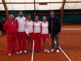 Nella foto la squadra del Tennis Club Genova