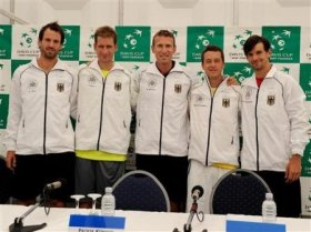 La squadra tedesca di Coppa Davis