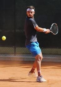 Omar Giacalone, 24 anni da Mazara Del Vallo (Sicilia), è il primo favorito dell'Open BNL maschile di Brescia