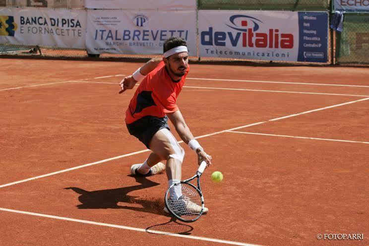 Omar Giacalone nella foto
