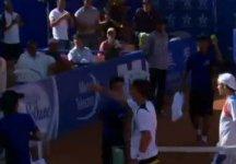 Video del Giorno: L'incontro tra Alessandro Giannessi e Paul Henri Mathieu a Marrakech (compreso il set point annullato dal transalpino)
