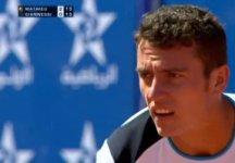 Challenger Marrakech: Alessandro Giannessi spreca una palla set nel secondo parziale e viene eliminato da Paul Henri Mathieu