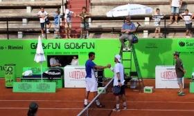 Alessandro Giannessi e Adrian Ungur