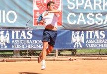 Challenger Kosice: Alessandro Giannessi perde in maniera netta con Simon Greul