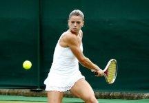 WTA Washington: Eliminata al primo turno Camila Giorgi. L'azzurra nel terzo set  è stata avanti per 3 a 1