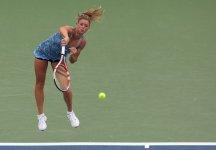 WTA Seoul: Avventura già finita per Camila Giorgi. L'azzurra ha anche sprecato sei set point contro l'americana Lepchenko